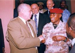 President Dadis au GCIG