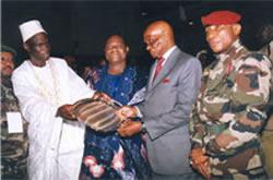 President Dadis Oscar