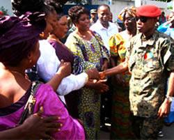 President Dadis femmes