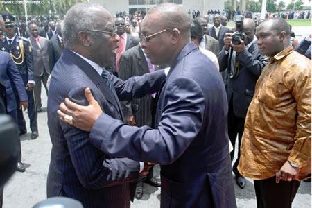 Gbagbo et Konate
