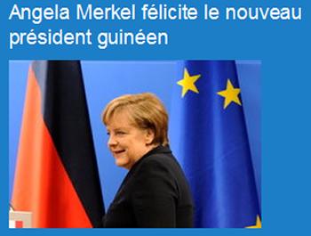 Merkel a Conde