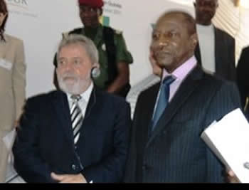 Presidents Conde et Lula