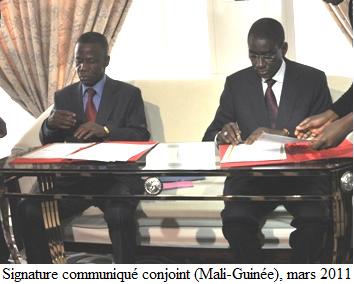 Minae Guinee Mali