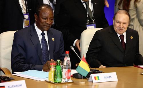 G8 Conde Bouteflika