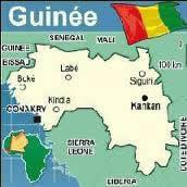 Carte Guinee