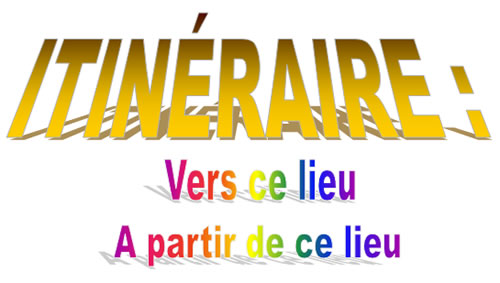 itineraire vers